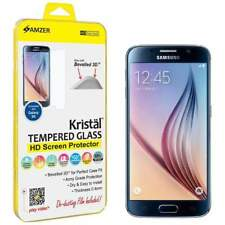 AMZER ULTRA THIN HD TEMPERED GLASS SCREEN PROTECTOR GUARD FOR SAMSUNG GALAXY S6
