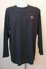 Mens Sports Illustrated SI Logo Long Sleeve Dark Gray Shirt Size XXL