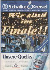 Orig.PRG   UEFA Cup 1996/97  FINALE   FC SCHALKE 04 - INTER MAILAND  !!  RARITÄT