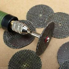10Pcs Durable Electric Rotary Tool Kit Cut Off Wheel Resin Cutting Disc FreeShip