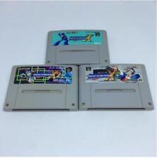 Used Nintendo Super Famicom Rockman X1,X2,X3 set SFC Japan
