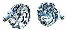 Game of Thrones TARGARYEN Metal/ Enamel Finish CUFFLINKS
