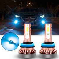For Mazda 3 2004-06 2014-2016 Mazda3 Sport Ice Blue LED Fog Light Bulbs H8 H11