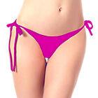 Sexy Femme Maillot Bain Bikini Bas Culotte String Brésilien Thong Caleçon Plage