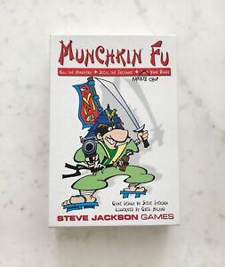 Munchkin Fu Card Board Game - A Steve Jackson Game | Comedy Dungeon Card Game