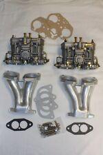 1 Satz Doppelvergaseranlage Weber 48 IDF FAJS VW Porsche 356 912 Vergaser Käfer