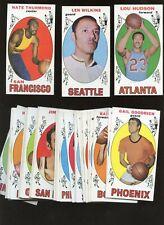 1969/1970 Topps Basketball Card Lot Starter Set 54 Different EX+/NRMT