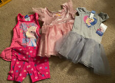 Disney Frozen And Princess Girls 18 Months Clothing Lot