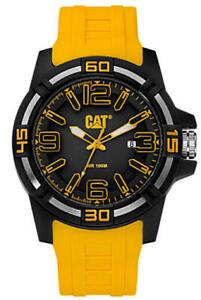 Men's Caterpillar CAT 45mm Yellow Watch LI12127137