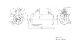 New Starter  TYC  1-06646