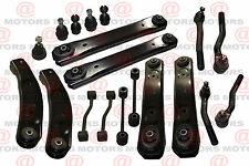 Front & Rear Suspension Kit Control Arms Ball Joint Tie Rods Fits Grand Cherokee
