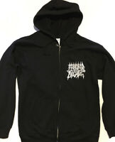 MORBID ANGEL Zipper Hoodie BLACK METAL DEATH IMMOLATION MAYHEM SLAYER VENOM S-XL