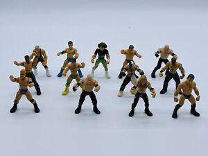 2006 Jakks WWE Mini Poseable Wrestling Figures Lot Of 12