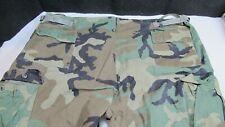 Military Uniform Pants Cargo Camo size Large Soil Chemical Protective Class 1