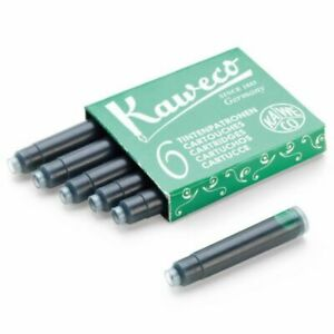 Kaweco Ink Cartridges - Green - 6 Pieces
