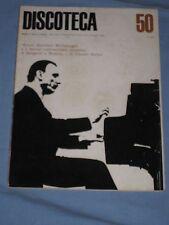 Rivista mensile di dischi e musica DISCOTECA n° 50 maggio 1965  (E2)