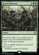 SECOND HARVEST NM mtg Shadows Over Innistrad Green - Instant Rare