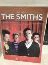 THE BEST OF THE SMITHS songbook Sheet Music Piano Vocal Guitar Morrissey
