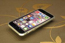 """Premium Luxus IPhone 6 (4,7"""") Aluminium Schutzrahmen Hülle PLATIN * (B2S)*"""
