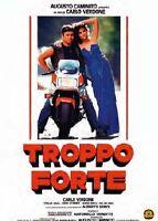 TROPPO FORTE  DVD COMICO-COMMEDIA