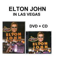 Elton John DVD + CD  In Las Vegas Brand New Sealed