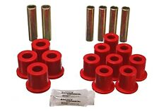 Energy Suspension Leaf Spring Bushing Set Red Rear for Ford Bronco # 4.2114R