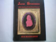 JACOB SPORNBERG 18th CENTURY ARTIST from FINLAND by SUE McKECHNIE  1971 1ST H/B