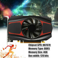 4GB Graphics Card DDR5 Game Discrete Graphics 1080P HD High Resolution 128Bit