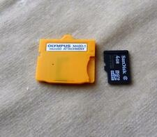 Olympus MASD-1 MicroSD Attachment with Sandisk 4GB Micro SD card