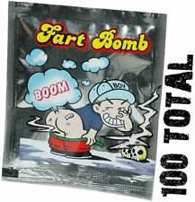 (100 ) Fart Bomb Bags stink bomb smelly - funny gag prank joke noise trick magic