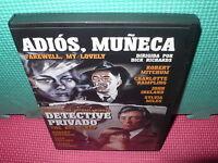 ADIOS MUÑECA - DETECTIVE PRIVADO - MITCHUM - 2 PELICULAS 1 DVD -