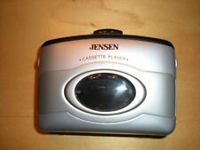 Vintage Jensen Sc-6 Cassette Player with Bass Boost and Belt Clip Pre-Owned