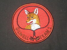 Wood Badge Gilwell Team 1 Fox Patch