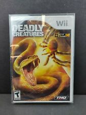 Deadly Creatures (Nintendo Wii, 2009) Brand New Sealed