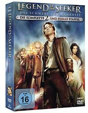 Legend Of The Seeker Season 2 Second TV Series Craig Horner NEW SEALED UK R2 DVD