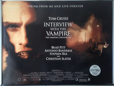 Cinema Poster: INTERVIEW WITH THE VAMPIRE 1994 (Quad) Tom Cruise Brad Pitt
