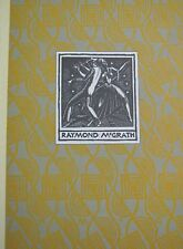 RAYMOND MCGRATH AUSTRALIAN PRINTMAKER CATALOG 1979 AS NEW