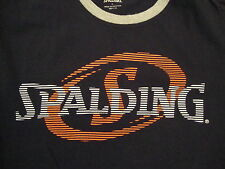 NBA National Basketball Association Fan Spalding Name Brand Athletic T Shirt L