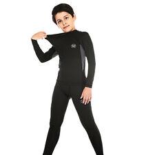 Us Kids Thermal Warm Long Johns Leggings Underwear Base Layer Bottoms Pants M