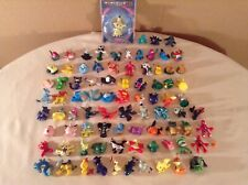 Pokemon 1� Mini Figure Lot Of 83 Plus Moncolle-Ex Tomy
