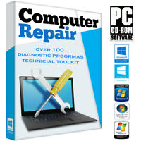 PC Computer Laptop Repair Fix for Windows 10 8 7 Vista XP Disc DVD