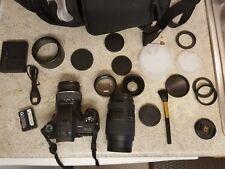 Sony Alpha SLT-A65 24.3MP Digital SLR Camera - Black (Kit w/ DT SAM 18-55mm+more