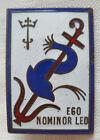 Insigne Marine 1939 Contre Torpilleur LION AB déposé ORIGINAL WWII France