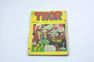 THOR #8 - Turkish Comic Book - 1980s - Very Rare - MARVEL COMICS