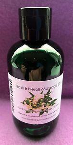 Basil & Neroli Massage Oil - 100ml