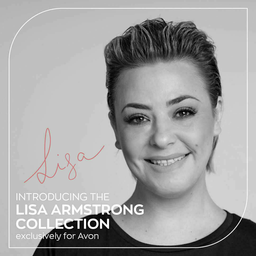 Lisa Armstrong x Avon Makeup