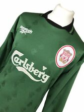 LIVERPOOL GOALKEEPERS JERSEY 96/98 NEW  WITH TAGS SIZE 34/36 SMALL