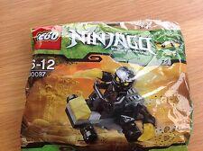Nouveau Lego 30087 Ninjago Cole ZX voiture Masters of Spinjitzu polybag