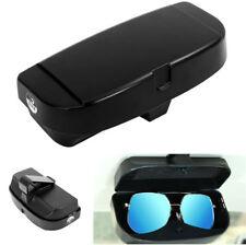 Multifunction Car Large size Sun Visor Mounted Glasses Case Cards Storage Box