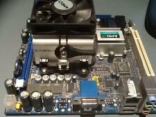 Mainboard Itx Amd Athlon x2 64   2,1 Ghz 1Gb ram